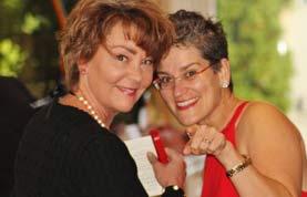 Fundraising publishing advisor Stacy Bannerman and host Ginger Johnson