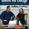Hallifax & Jeffrey - Concert: Before the Deluge