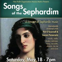 Songs of the Sephardim - May 18 2019