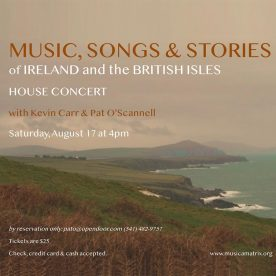 Music, Songs & Stories of IRELAND and the BRITISH ISLES
