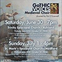 Gothic Voices June 2018 Concert