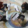 Ensemble Fontegara Renaissance recorders at Rotunda at SOU Library