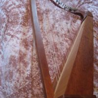 Celtic Harp for Auction