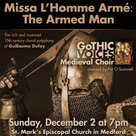 Missa L'Homme-Medford concert
