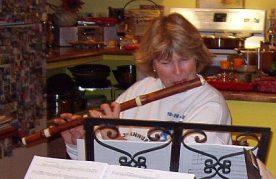 Sherril Wood: Transverse Flute