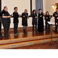 Gothic Voices Medieval Choir in rehearsal